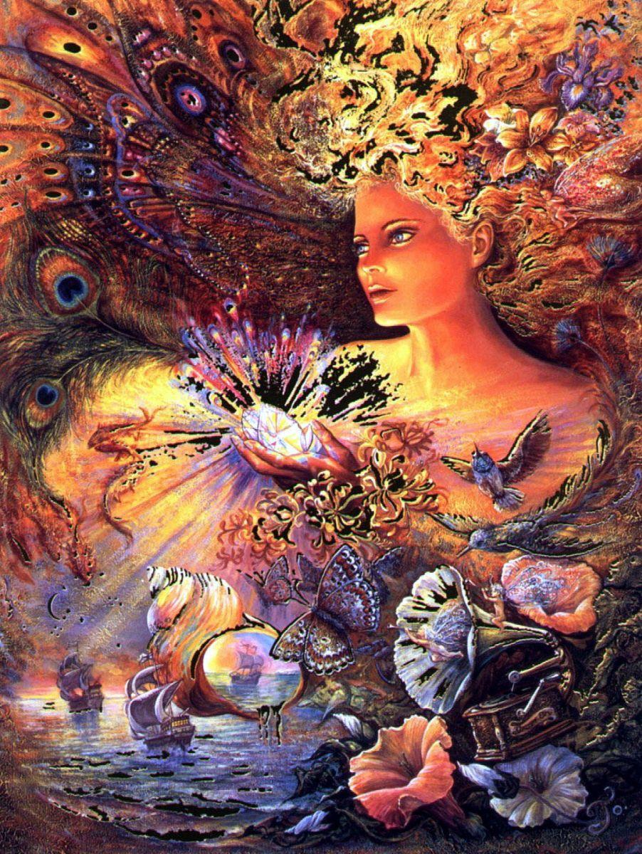 копия картины Жозефины Уолл